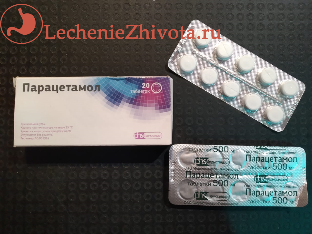 Парацетамол ацетаминофен